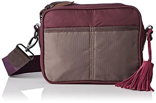 Bensimon F19365C41216, Borsa a spalla donna , Viola (Violet (7043 Taupe/Prune)), Taille Unique