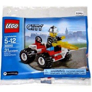 LEGO (レゴ) City Exclusive Mini フィギュア 人形 Set #30010 Fire Chief Bagged ブロック おもちゃ (並行輸入)