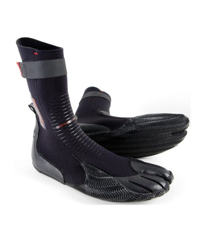 O'Neill Wetsuits Heat 3mm Split Toe Boot, Black, 10