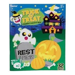 Halloween Trick or Treat Coloring & Activity Book (Halloween Costumes Columbus Ohio)