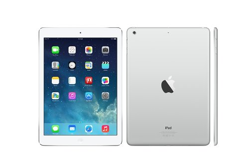 Apple iPad Air 16 GB (Wifi And Cellular) in Silver/White ME997LL/A