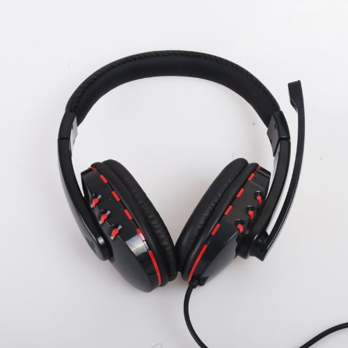 Wantmall Wired Stereo Gamer Headset For Sony Playstation 3 Ps3