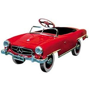 Mercedes benz pedal car toys games for Mercedes benz pedal car