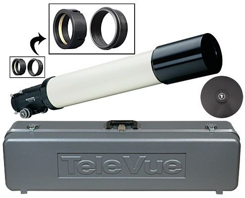 """Tele Vue New Up-Dated Np127Is Imaging System 5"""" F/5.2, 4-Element Apo Refractor Telescope Optical Tube Assembly, Ivory, New 10:1 Focuser Pinion Assembly Made For Tele Vue By Starlight Instruments. New Lens Prescription Delivers Smaller Spots Sizes Over A B"""
