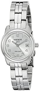 Tissot Women's T0492101103200 PR 100 Silver Arabic Numeral Dial Watch
