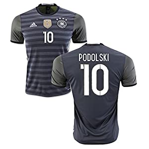 2016-2017 Germany Away Shirt (Podolski 10)