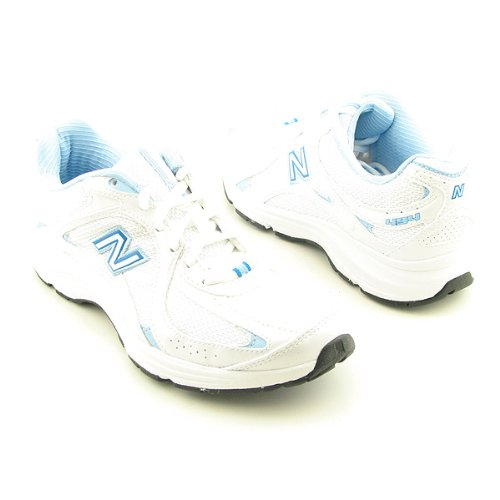 new balance ww494 walking shoes white womens sz