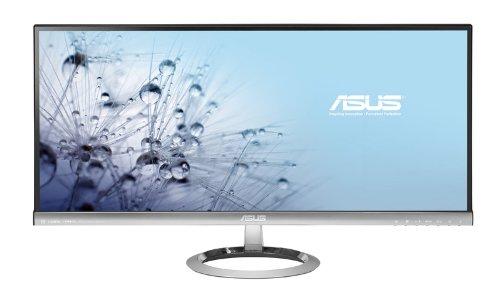 ASUS 液晶ディスプレイ 29型ワイド 2,560×1,080 (ウルトラワイド) 300cd/㎡ 使用時:30W以下、スタンバイ時:0.5W以下 HDMI/MHL x1, Dual-link DVI x1, DisplayPort x1, ステレオミニジャック x1 MX299Q