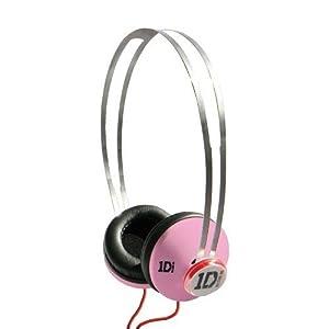 One Direction SnapCaps On-Ear Headphones - Pink