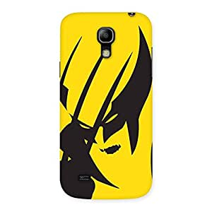 Delighted Wolf Zone Multicolor Back Case Cover for Galaxy S4 Mini