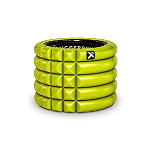 TriggerPointGRIDFoam Roller with Free Online Instructional Videos, Mini (4-inch), Lime