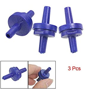 Amazon.com : 3 Pcs Blue Plastic Air Pump Outlet Check Valves for