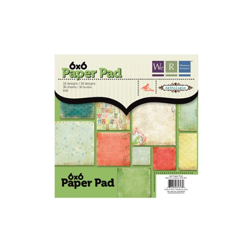 Anthologie 6X6 Paper Pad (We R Memory Keepers)