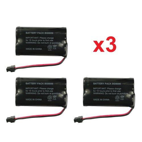 3 fenzer rechargeable cordless phone batteries for uniden bt 1015 ebay. Black Bedroom Furniture Sets. Home Design Ideas