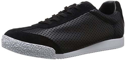 Gola Women's Harrier Cubed Fashion Sneaker, Black, 8 M US