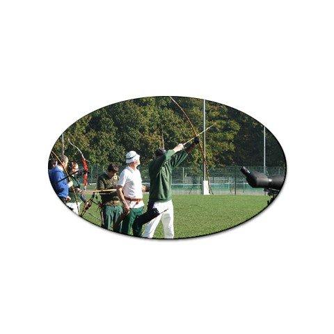 Archery Sport Oval Magnet