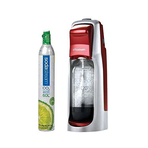 SodaStream Jet Starter Kit, Red (Hand Carbonator compare prices)