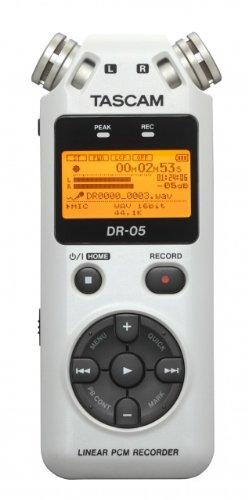 TASCAM リニアPCMレコーダー ホワイト DR-05W