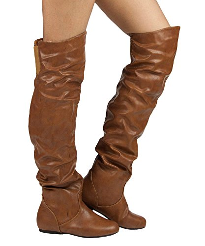 womens-trend-hi-over-the-knee-thigh-high-flat-slouchy-shaft-low-heel-boots-by-room-of-fashion-cognac