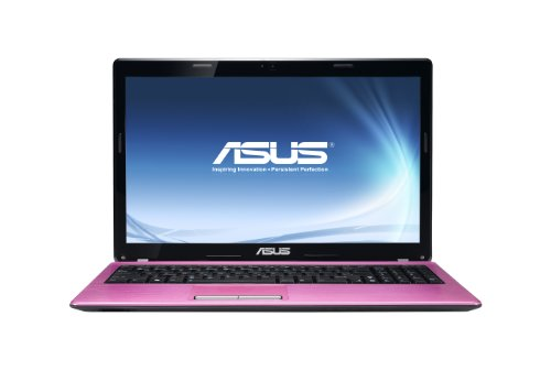 Asus K53E 15.6 inch Laptop (Intel Core i3 2330 2.2GHz, RAM 4GB, HDD500GB, LAN, WLAN, Webcam, Windows 7 Home Premium 64 Bit) - Pink