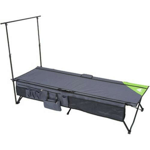 Ozark Trail Instant Cot With Rack And Side Storage front-121481