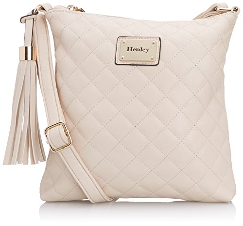 Henley Womens Erin Cross-Body Bag Cream