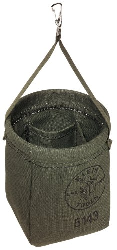 Klein Tools 5143 Canvas Tapered-Bottom Bag (Klein Tool Bag Canvas compare prices)