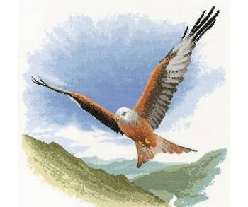heritage-crafts-john-clayton-flights-of-fancy-red-kite-in-flight-counted-cross-stitch-kit-27-count-e