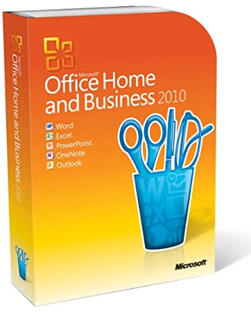Microsoft Office Home and Business 2010 - 2PCs/1User