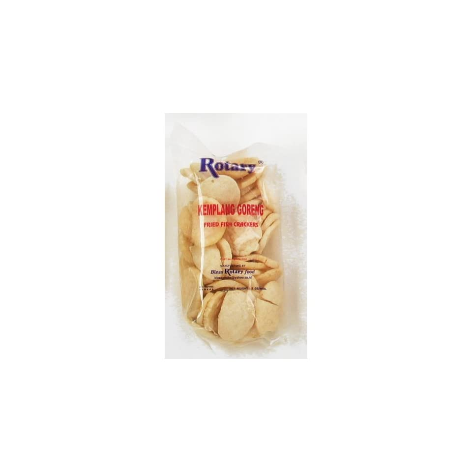 Rotary Fried Fish Crackers, 7 Ounce: Grocery & Gourmet Food