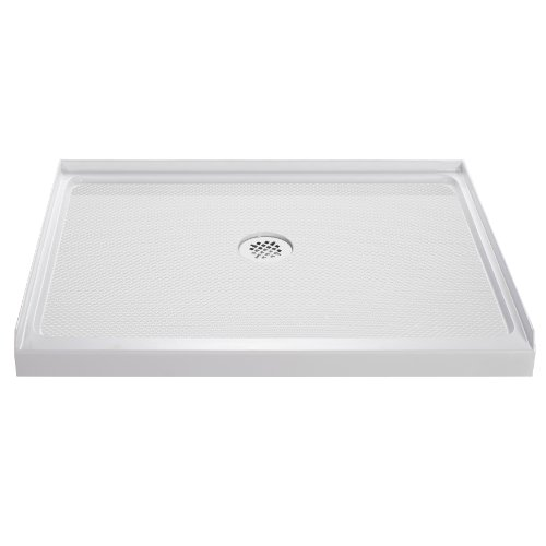 Lowest Price! DreamLine  DLT-1136480 SlimLine 36-Inch x 48-Inch Single Threshold Shower Base, White