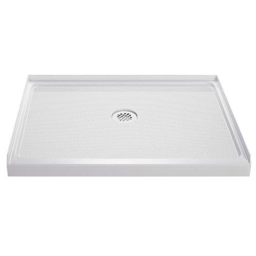 Lowest Price! DreamLine  DLT-1136480 SlimLine 36-Inch x 48-Inch Single Threshold Shower Base, White
