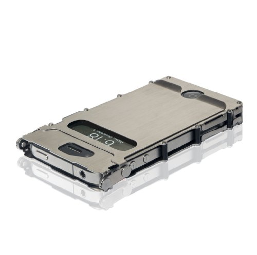 Columbia River Knife and Tool iNOX4SX iNoxCase 360 Stainless Steel iPhone 4 and 4S Case Brused Stainless Picture