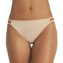 Vassarette Women's Silken Heather Bikini Panty 2-Pack