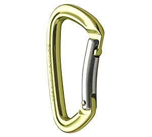 Black Diamond Positron Carabiner Lime, Straight
