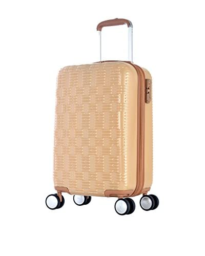 Olympia T-Line Geon Polycarbonate Mid-Size Spinner Bag, Beige