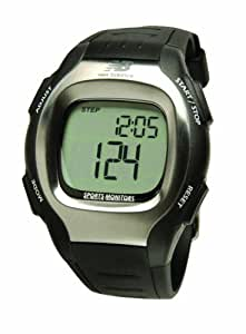 New Balance VIA Wrist Pedometer with Calorie Counter, Watch, and Chronograph