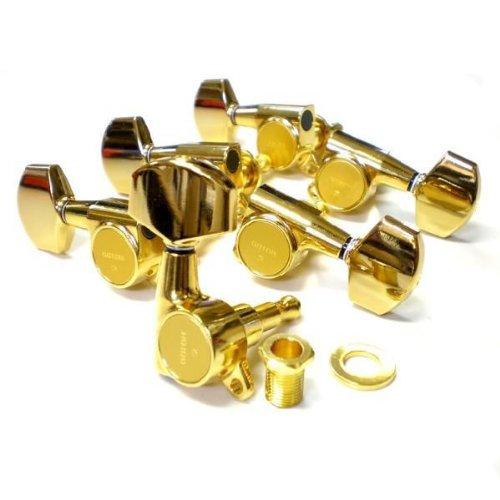 ゴトー ペグ GOTOH SG381 01 GG L3 R3 ゴールド 両側 6個セット