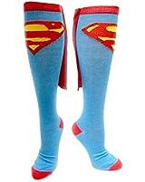 Superman Cape Stockings blue