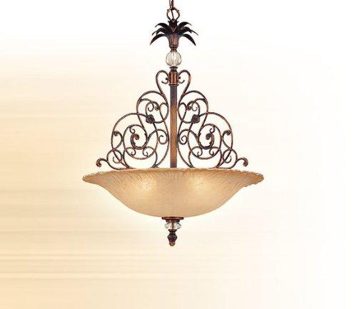 Corbett Lighting 56-74 Florentine Bronze Renaissance 5 Light Bowl Pendant from the Gazebo Collection