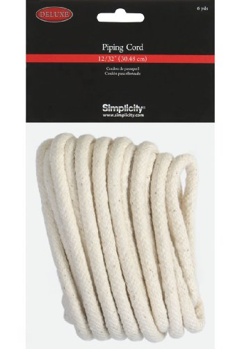 "Sale!! Simplicity Deluxe 12/32"" Piping Cord 6yds"