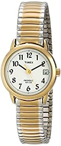 Timex Women's T2H491 Easy Reader Two-Tone Expansion Band Watch
