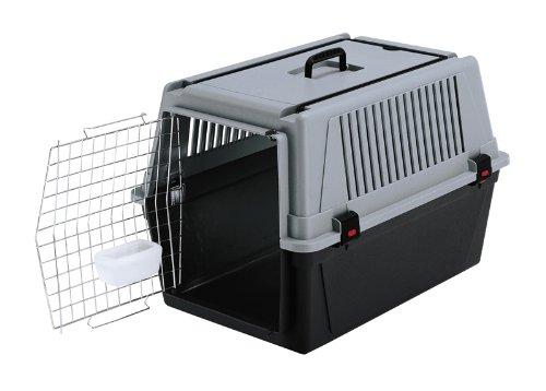 Ferplast-73011021-Transportbox-ATLAS-40-PROFESSIONAL-fr-Hunde-Mae-68-x-49-x-455-cm-grau