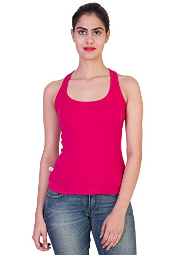 2DAY-Womens-Stylish-Comfy-Tank-top-WhiteFushiaBlackRedGrey-Pack-of-5