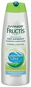 Garnier Fructis Anti Dandruff Clean & Fresh 2in1 Shampoo + Conditioner 13 Fl Oz