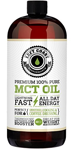 Left Coast Performance Coconut MCT Oil, 32 oz (Mct Oil Pharmaceutical Grade compare prices)