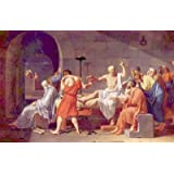 Jacques-Louis David (Death of Socrates) Art Poster Print - 11x17by poster