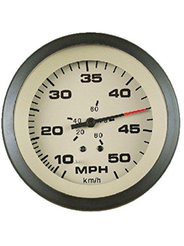 "Sierra International 61163P Sahara Pitot Type 10 to 50 Mph Dial Range Scratch Resistant Speedometer Kit, 3"""