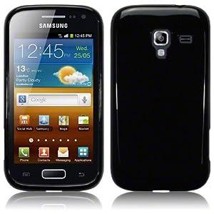 Funda Carcasa Gel Negra para Samsung Galaxy Ace 2 i8160 Negro