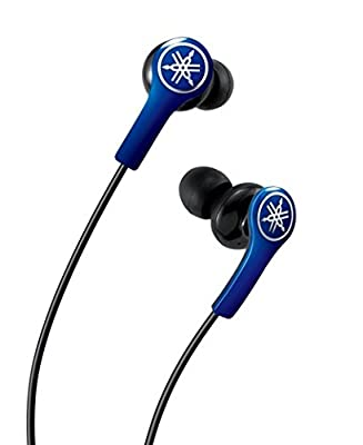 Yamaha EPH-M100BL High-Performance Earphones with Remote and Mic, Black